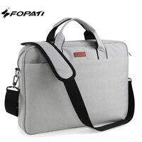 Fashion FOPATI Brand 14 15 6 Inch Laptop Bag Messenger Handbag Shoulder Bag For Macbook Air