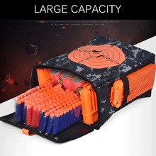 Hot! Bullet Target Pouch Tactical Soft Bullets Storage Case Waterproof Oxford Cloth Carry Bag For Nerf Guns Equipment