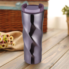 Stainless Steel Mug Double Layer Thermal Vacuum Thermos Hot Coffee Cup New for Office Gift