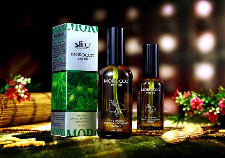 New 100% pure keratin moroccan argan coconut oil essential oils hair mask repair damage Frizz Hair Care treatment 50ml bottle 1