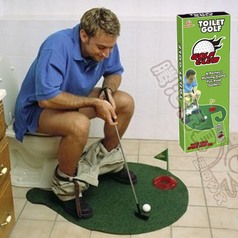 Outdoor leisure and recreation sports series toilet Mini toilet Golf Package