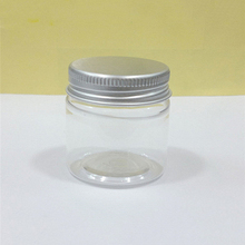 30g Plastic Clear Bottle Refillable Cosmetic Cream Sample Jar Empty Pill Capsule Packaging Containers Free Shipping