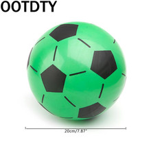 OOTDTY Children Soccer Ball Kid Gift Training Inflatable Football 20cm Elastic Balls