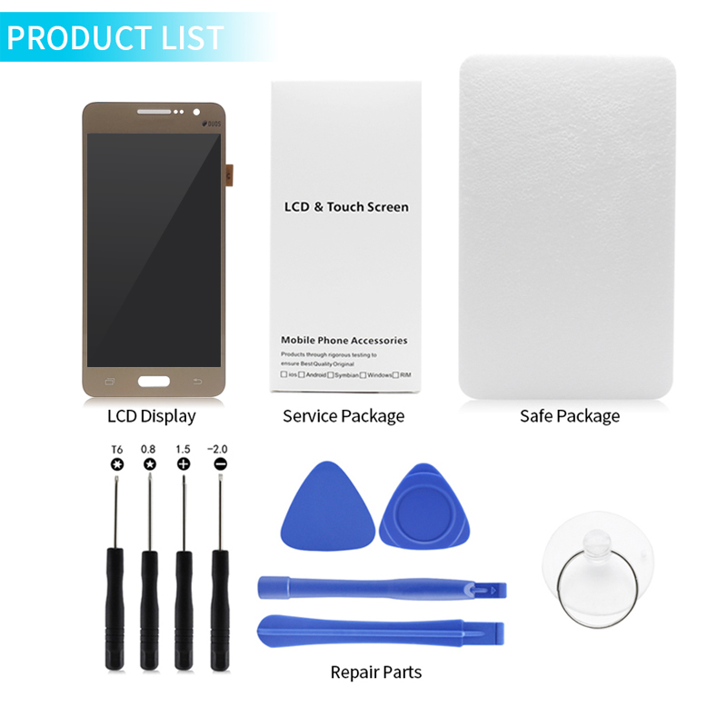 Image 5 - For Samsung GALAXY Grand Prime display g530 lcd display Touch Screen digitizer Assembly G531H G531f G531FZ display Repair Parts-in Mobile Phone LCD Screens from Cellphones & Telecommunications