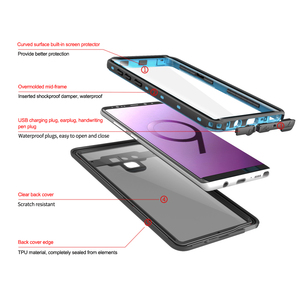 Image 2 - Funda de teléfono impermeable IP68 para Samsung Galaxy S20, Ultra, S10 Plus, S10E, S9, Note 20, 10 Plus, 9, 8, A51