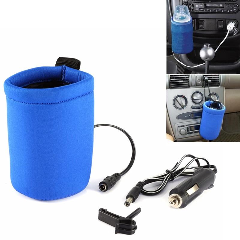12V Universal Car Travel Food Milk Water Bottle Cup Warmer Heater
