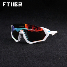 Ftiier 3 объектива UV400 поляризованные солнцезащитные очки Велоспорт TR90 спортивный велосипед очки MTB горный велосипед Рыбалка Пеший Туризм Верховая езда
