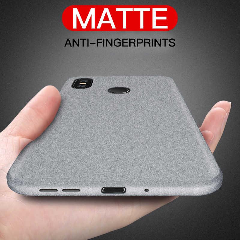 Ультра-тонкий Песчаник чехол для Xiaomi mi 9 9SE 8 8SE Lite 6 6X5 5X 5S плюс матовый мягкий чехол Red mi Note 4 4X 4A 5A 5 6 6A Pro 3 S