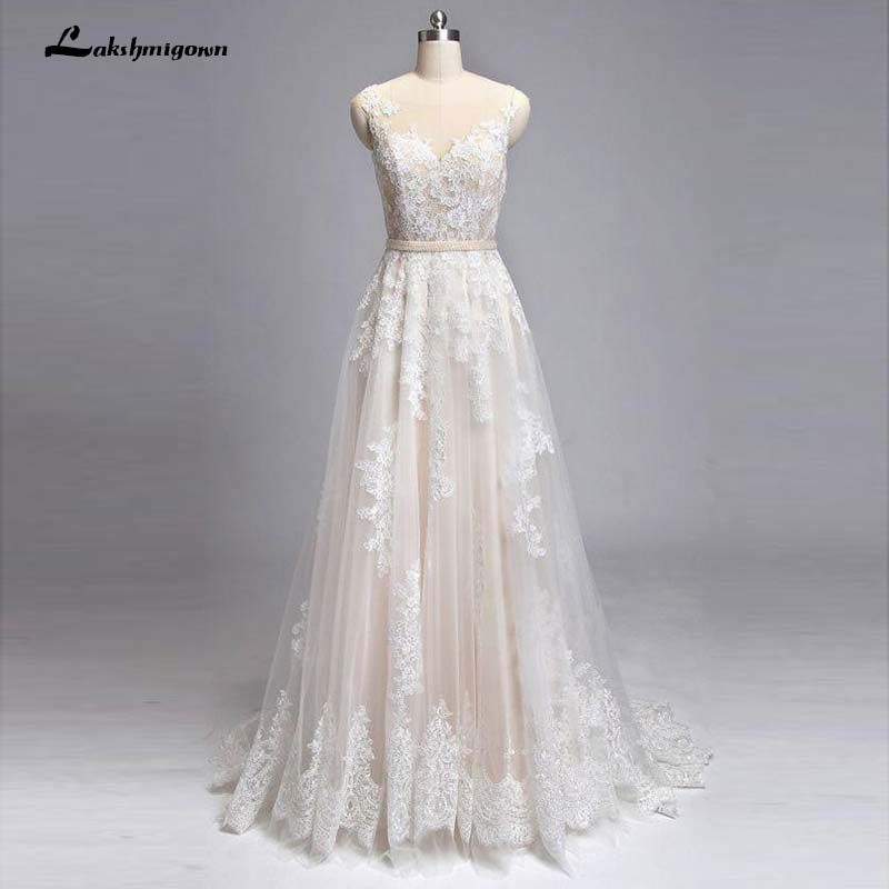 Buy Used Wedding Gowns: Aliexpress.com : Buy Champagne Wedding Dress Tulle Lace