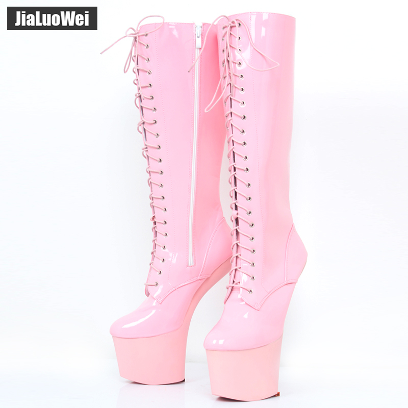 jialuowei 8 ίντσες Υψηλή φτέρνα - Γυναικεία παπούτσια - Φωτογραφία 6