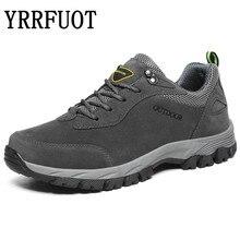 YRRFUOT для мужчин треккинговые ботинки 2019 бренд Открытый Спортивная обувь военная Униформа Альпинизм мужские кроссовки кружево до водонепроница