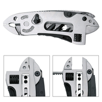 Multitool Pliers Pocket Knife Screwdriver Set Kit Adjustable Wrench Jaw Spanner Repair Survival Hand Multi Tools