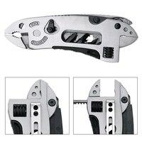 Multitool Pliers Pocket Knife Screwdriver Set Kit Adjustable Wrench Jaw Spanner Repair Survival Hand Multi Tools