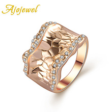 Free Shipping Fashion Gold Jewelry 18K Plated Exaggerated Ring