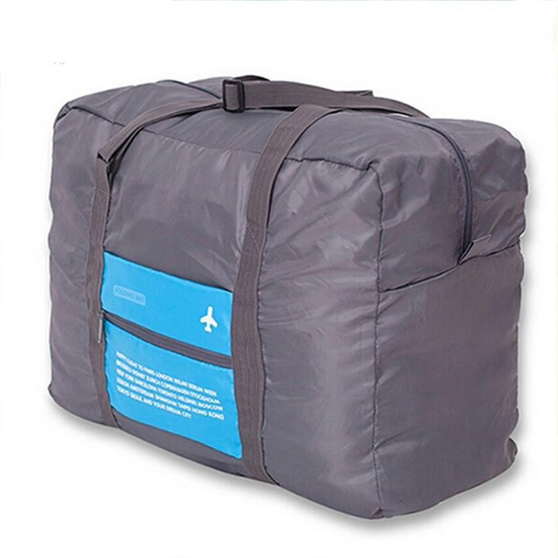 HMUNII WaterProof Travel Large Capacity Bag Women Nylon Folding Bag Unisex Luggage Travel Accessories Handbags Free Shipping