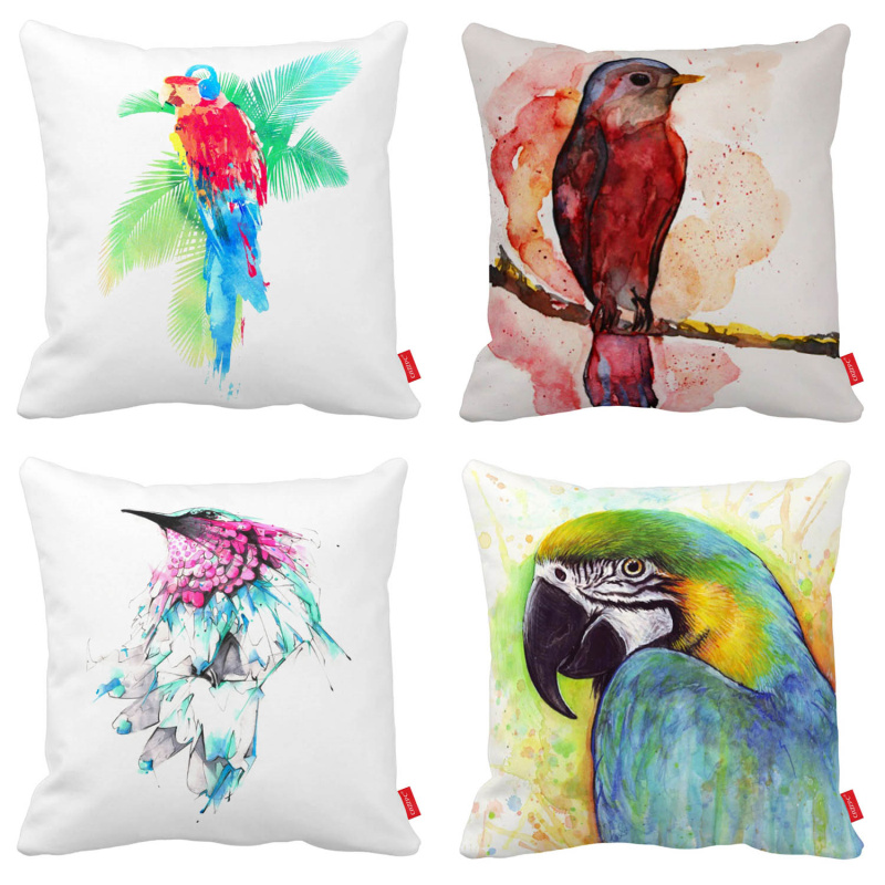 El envío libre de la novedad elegante rojo amarillo Macaw pájaro ...