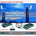 200 м Беспроводной Передачи Видео и Аудио Беспроводной HDMI Передатчик Приемник 1080 P WI-FI Беспроводной HDMI Extender Kit Открытый 3 км