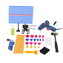 PDR Инструменты Paintless Dent Repair Tool Термоклей Клей Палочки пистолет PDR Отражатель Совета Puller Tabs Руки Набор Инструментов PDR Инструментарий