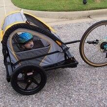 Высокое качество, задние стойки для велосипеда, стальная велосипедная тяга, крепление для прицепа, адаптер, замена оси велосипеда, велосипедное заднее крепление для переноски