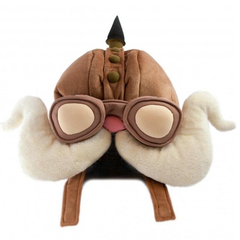 New Unisex warm winter hats cute LoL Heroic Bouncer Kuchi cap airplane cooch cosplay warm men