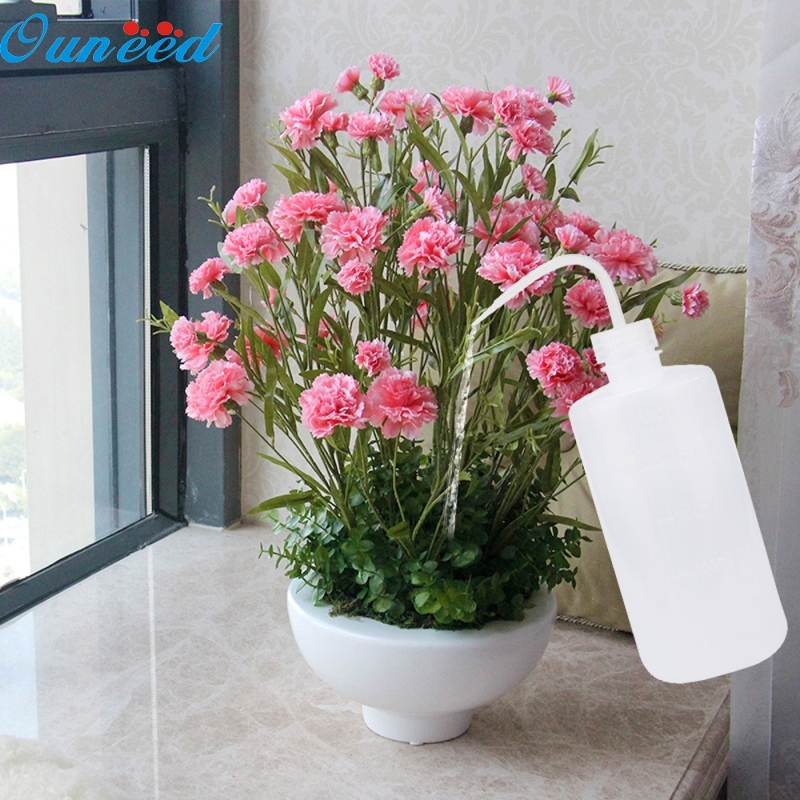 Ouneed Happy Home 16oz 500ml Large Squeeze Transparent Water Bottle Liquid Container Water Sprayer 1 Piece бутылка для воды oem 480 16oz folding water bottle 480ml