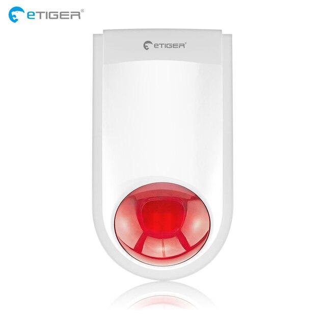 Etiger Alarm Siren Wireless Outdoor Siren For Alarm System Intruder Burglar S4 S3B V2
