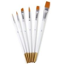 цена на 6 pieces Watercolor oil Paint brush Multi-function Paint brush Art and painting supplies Paint Brushes Brushes for Watercolor