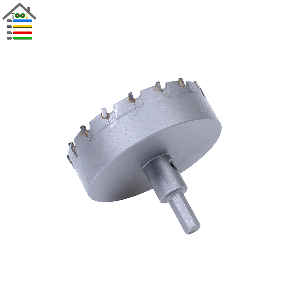 High Quality New Carbide Tip TCT Drill Bit 90mm Stainless Steel Hole Saw Set for Metal Alloy Drilling Core Cutter high quality new 120mm stainless steel tct drill bit carbide tip fit hole saw set for metal alloy drilling core cutter big size