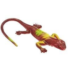 Simulation Soft Rubber Lizard Toy Model Tricky Scary Chameleon Mini Four-legged Snake Child Boy Holiday Gift
