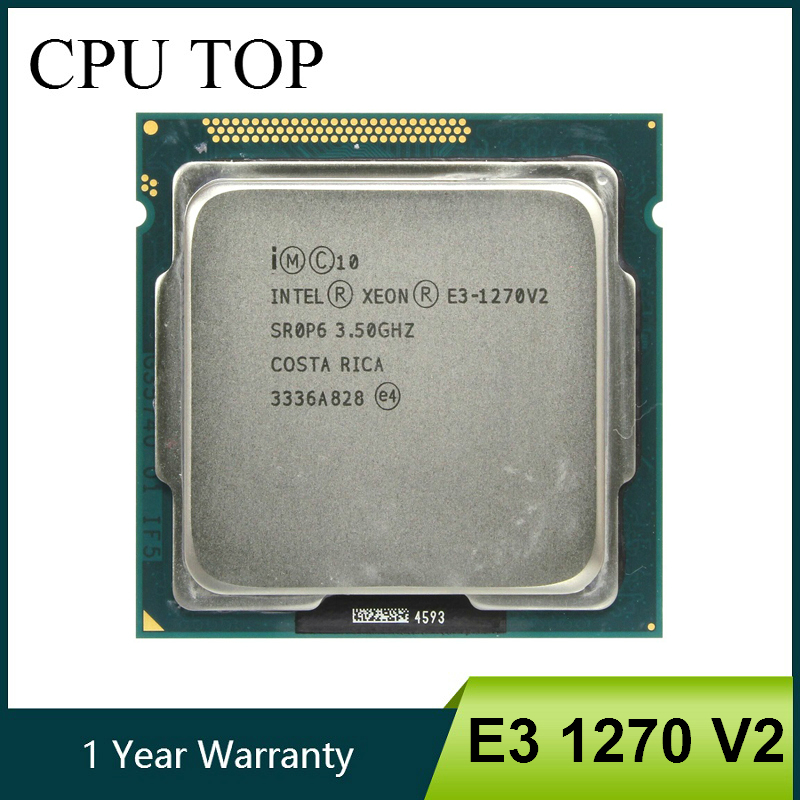 Intel Xeon E3-1270 V2 3.5GHz LGA1155 8MB Quad Core CPU Processor E3 1270 V2 SR0P6(China)