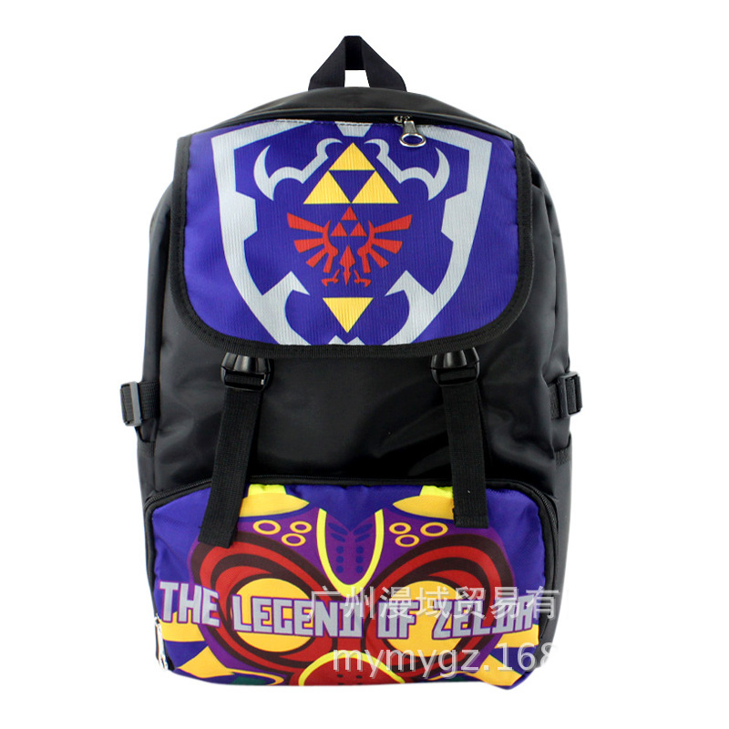 The Legend of Zelda thick waterproof nylon soft Zelda bag backpack schoolbag boy girl carton women men classic leisure backpacks черепаха плетёная zelda