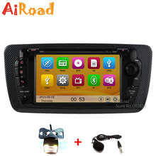 HD 1080P Car Stereo for SEAT Ibiza GPS Navigation Multimedia Central Car DVD Radio Video Audio USB SD iPod Player 10 Band EQ