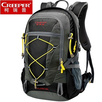 цена на Creeper Wholesale Free Shipping Professional Waterproof Rucksack Cycling Climbing Camping Hiking Backpack Mountaineering Bag 40L