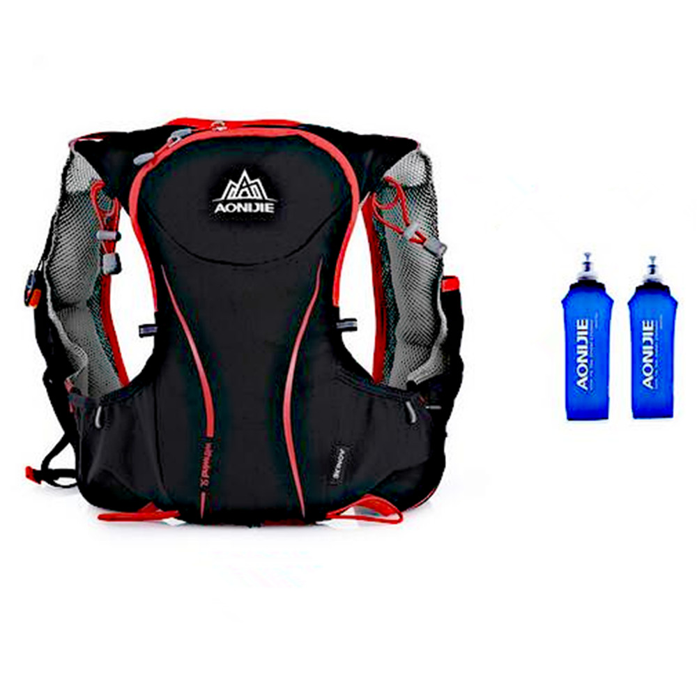 AONIJIE 5L Running Backpack Bag Hydration Bag Outdoor Sport Bag Vest Super Light for Cycling Climbing Camping Hiking Running цена и фото