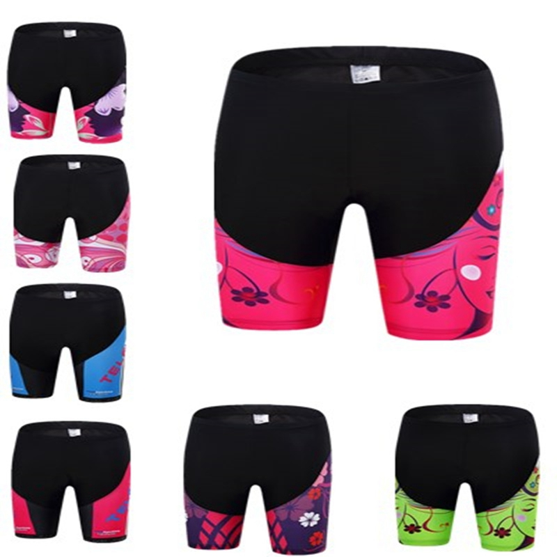 Summer Cycling Shorts Women Bicycle 3D Padded Gel Breathable Bike Underwear Quick Dry Shorts Riding Girl S-3XL