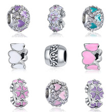 DIY  charms plata de ley 925 original bracelet jewelry valentine's day mary poppins bijoux sieraden riverdale beads jewellery цена