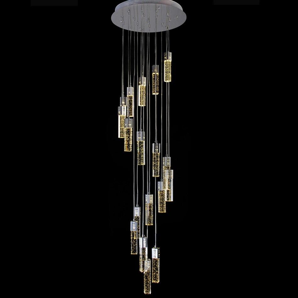 ▻Lámpara de techo Escalera Lámparas colgantes para cocina lámpara ...