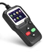 Kw680 ferramentas de diagnóstico do carro do varredor do automóvel com cabo obd2 ferramenta de diagnóstico profissional multilingue do varredor automotivo do carro