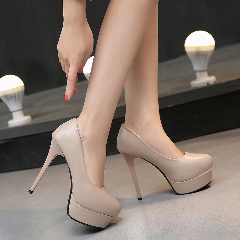 Sexy Pumps Stiletto Lady Pointed Toe