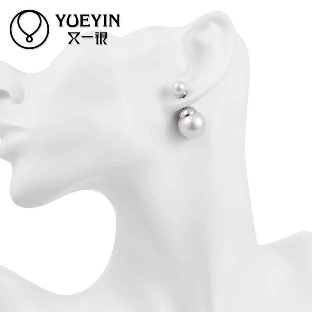 E052-B ขายส่ง Nickle ฟรี Antiallergic Gold สีต่างหูผู้หญิงใหม่แฟชั่นเครื่องประดับ brincos oorbellen