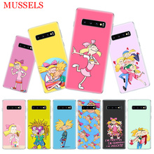 Hey Arnold Fondos Gift Phone Case for Samsung Galaxy S10 Plus S10E Lite A50 A70 A30 A10 A20E M30 M20 M10 A20 A80 A40 Coque Cover