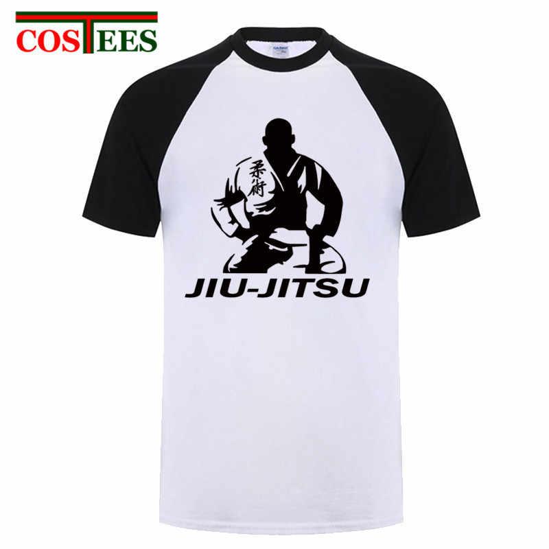 2019 Gracie jiu jitsu brasileño camiseta hombres compresión Camisa larga gi bjj rashguards jiu-jitsu camiseta Kung fu harajuku tops tee