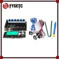 Материнская плата все-в-одном FYSETC F6 V1.3 + ЖК-дисплей MINI12864 mini 12864 + 6 шт. TMC2208 V1.2 Драйвер шагового двигателя для UART