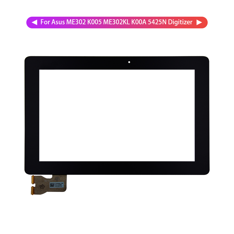 For Asus MEMO Pad FHD 10 ME302 ME302C K005 ME302KL K00A 5425N Touch Screen Digitizer Panel Glass Sensor Free Tools