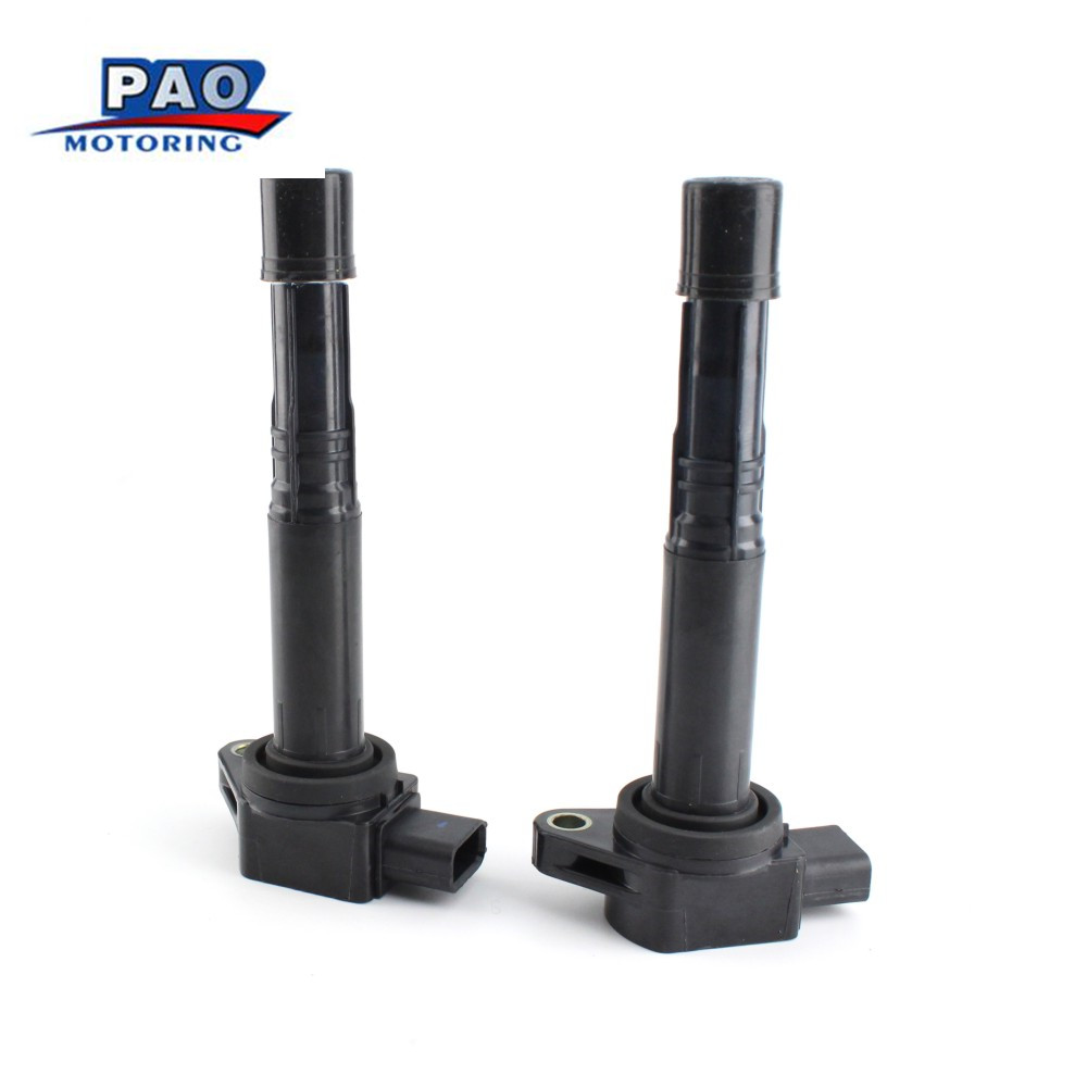 IGNITION COIL High-Performance HONDA NEW ACURA 2PCES UF89 30510-P73-A01 E897 SERIES VEHICLES