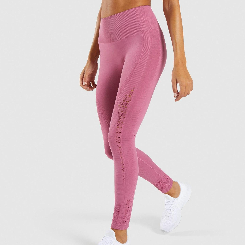 5ab23693625da Nepoagym Women New Energy Seamless Leggings high waist women yoga pants  booty leggings super stretchy gym tights energy