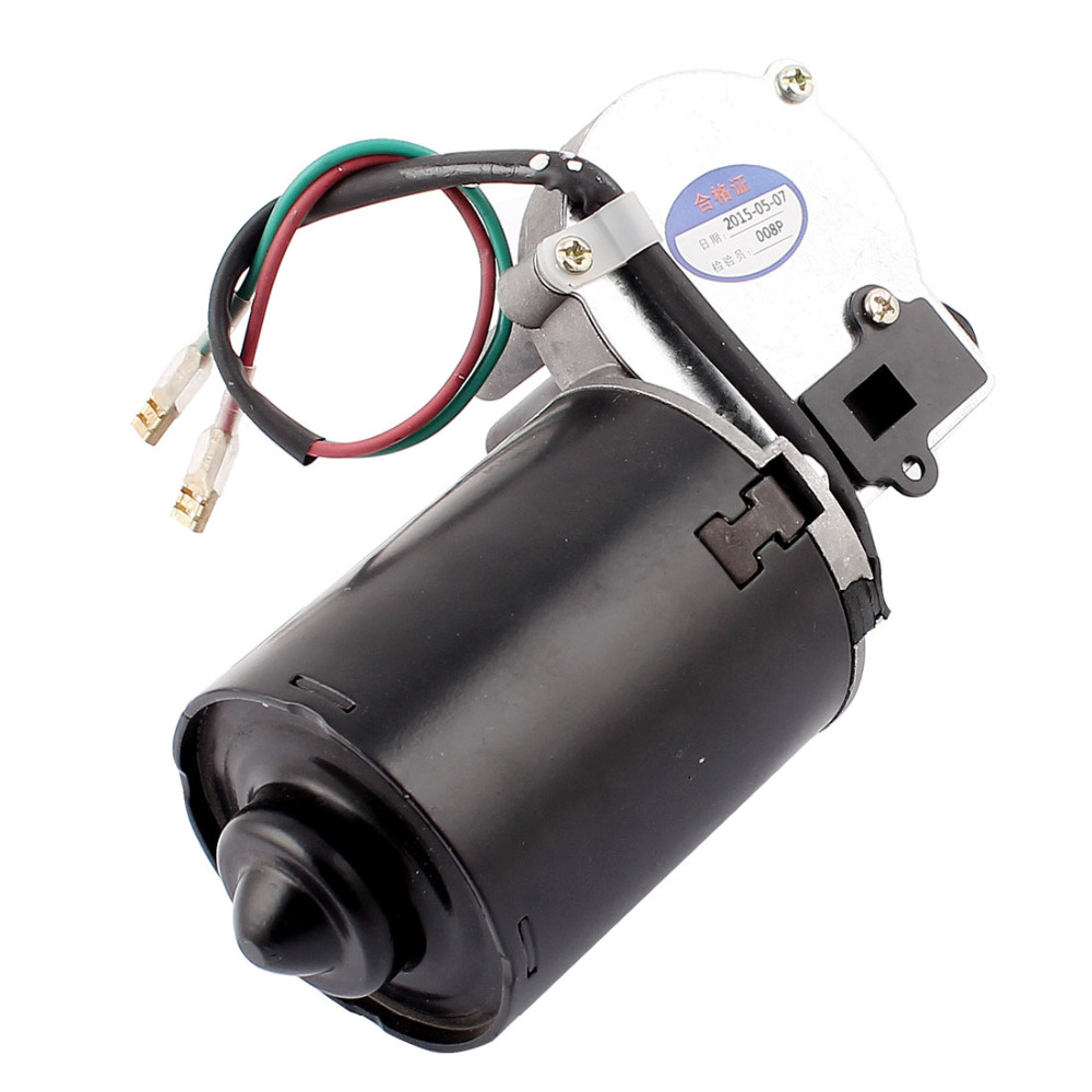 UXCELL DC 12V 40RPM Shaft High Torque Right Worm Gear Motor Speed Reducer gw31ct 2 2rpm dc 12v 400n cm worm gear reducer motor eletric dual shaft diy high torque wholesale retail free shipping