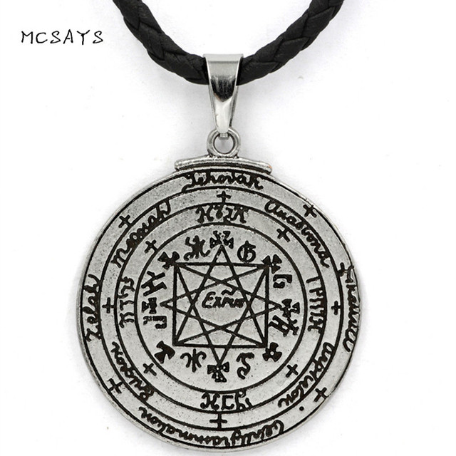 MCSAYS Norsemen Viking Jewelry Retro Pirate Mythology Rune Pendant