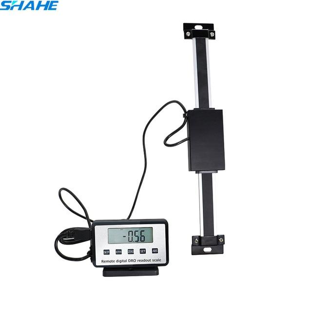 0-150mm échelles numériques à distance échelle de lecture de Table numérique pour Bridgeport moulin tour règle linéaire avec Base