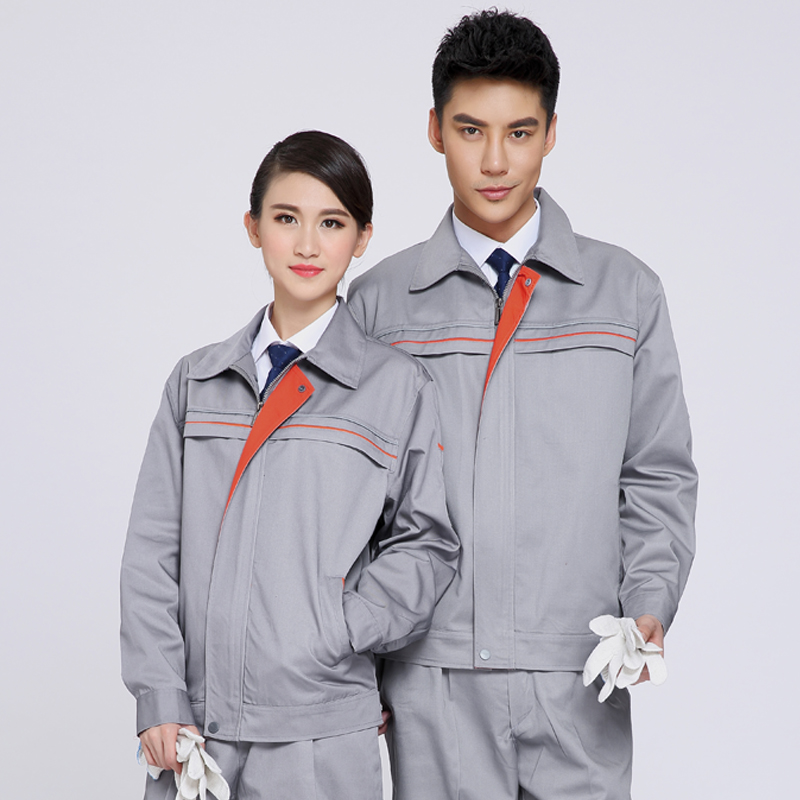 Reflective of work clothes long-sleeve work wear set male protective clothing work wear mens work clothing reflective coveralls windproof road safety maritime clothing protective clothes uniform workwear plus size